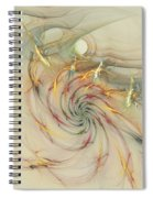 Marble Spiral Colors Spiral Notebook