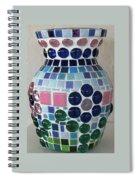 Marble Vase Spiral Notebook