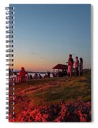 Marblehead Harbor Illumination 2017 Chandler Hovey Lights Lighthouse Spiral Notebook