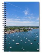 Marblehead Harbor Spiral Notebook