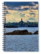 Marblehead Points To The Ocean Spiral Notebook