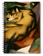 Marc: The Tiger, 1912 Spiral Notebook