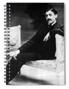 Marcel Proust, French Author Spiral Notebook