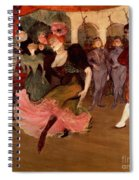Marcelle Lender Dancing The Bolero In Chilperic Spiral Notebook
