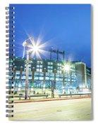 March 2017 Green Bay Wisconsin - Lambeau Field - Green Bay Packe Spiral Notebook