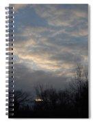 March Clouds In Dawn Sky Spiral Notebook