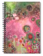 March Of The Spoonbills Spiral Notebook