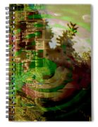 March Of Time Spiral Notebook