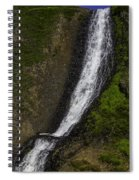 March Waterfall Spiral Notebook