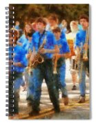 Marching Band - Junior Marching Band  Spiral Notebook