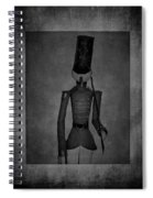 Marching Soldier Bw Spiral Notebook