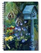 Marcia's Garden Spiral Notebook