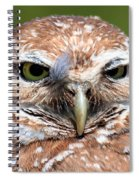 Marco Burrowing Owl - I Know What You're Thinking Spiral Notebook