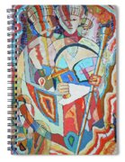 Marcus Garvey And Elders Spiral Notebook