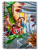 Mardi Gras - New Orleans 3 Spiral Notebook