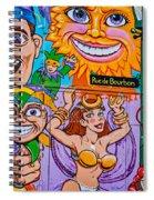 Mardi Gras North 2 Spiral Notebook