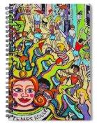Mardi Gras - Throw Me Something Mister Spiral Notebook