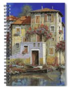 Mareblu' Spiral Notebook