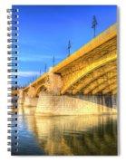 Margaret Bridge Budapest Spiral Notebook