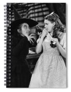 Margaret Hamilton And Judy Garland In The Wizard Of Oz 1939 Spiral Notebook