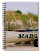 Margate Beach Spiral Notebook
