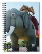 Margate New Jersey - Lucy The Elephant Spiral Notebook