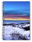 Marginal Way Presunrise Christmas Eve Spiral Notebook