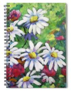 Marguerites 001 Spiral Notebook