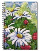 Marguerites 002 Spiral Notebook