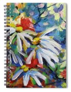 Marguerites Spiral Notebook
