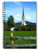 Maria Alm Spiral Notebook