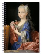 Maria Anna Victoria Of Bourbon. The Future Queen Of Portugal Spiral Notebook