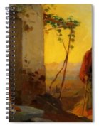 Maria Sister Of Lazarus Meets Jesus Who Is Going To Their House Spiral Notebook