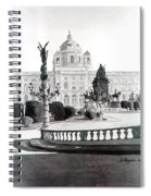 Maria Theresien Platz Spiral Notebook