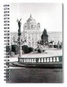 Maria Theresien Platz Spiral Notebook