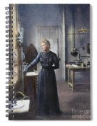 Marie Curie (1867-1934) Spiral Notebook