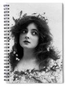 Marie Doro 1902 Spiral Notebook