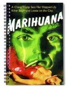 Marihuana Spiral Notebook