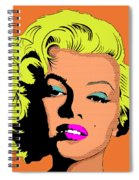 Marilyn-3 Spiral Notebook