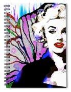 Marilyn In Love Spiral Notebook