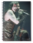 Marilyn Manson Spiral Notebook