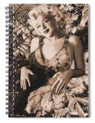 Marilyn Monroe 126 A 'sepia' Spiral Notebook