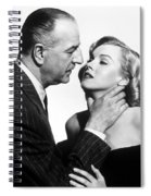 Marilyn Monroe Choked Spiral Notebook