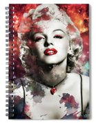 Marilyn Monroe   Colorful  Spiral Notebook