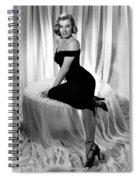 Marilyn Monroe Publicity Shot The Asphalt Jungle Spiral Notebook