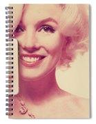 Marilyn Monroe Selfie 1 Spiral Notebook
