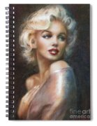 Marilyn Ww Soft Spiral Notebook