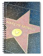 Marilyn's Star Spiral Notebook