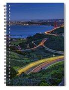 Marin Headlands Spiral Notebook