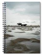 Marina Beach, Chennai Spiral Notebook